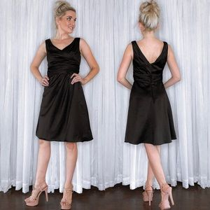 Black Bridesmaid Dress David's Bridal